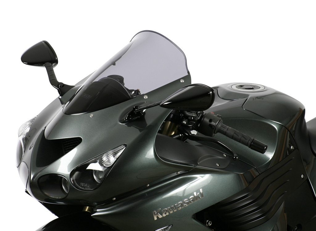 Bulle MRA Sport noire Kawasaki ZZR 1400 06-16