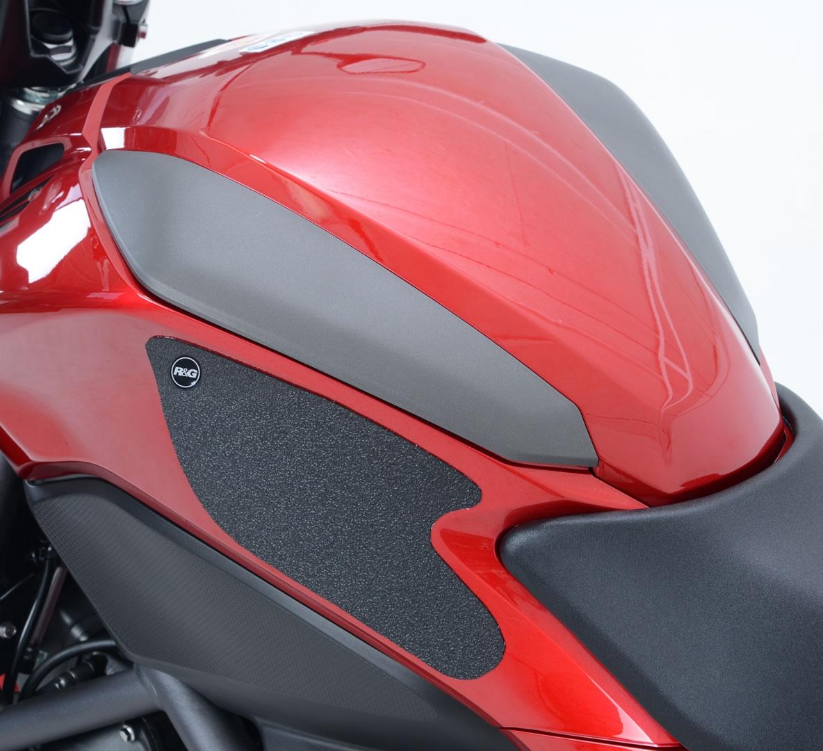 Kit grip de réservoir R&G Racing noir Honda NC 750 S 14-17