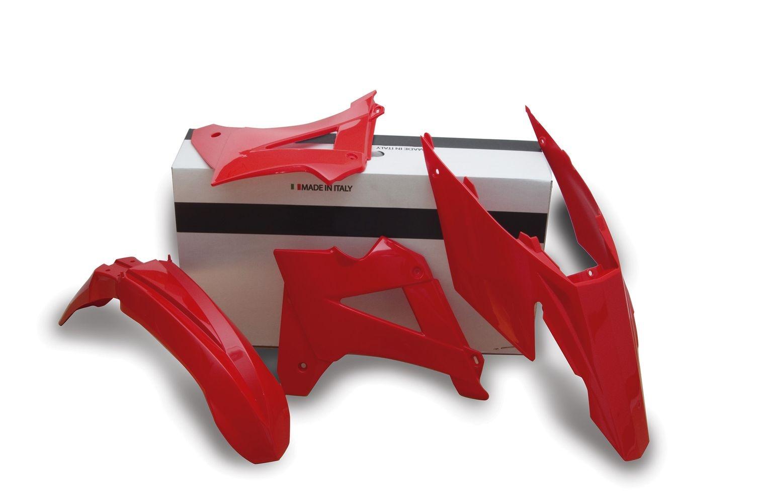 Kit plastique Racetech rouge pour Gas Gas EC 250 07-09
