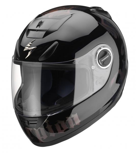 Casque intégral Scorpion EXO-750 AIR noir/caméléon - XL