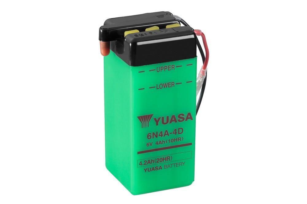 Batterie Yuasa 6N4A-4D 6V 4Ah