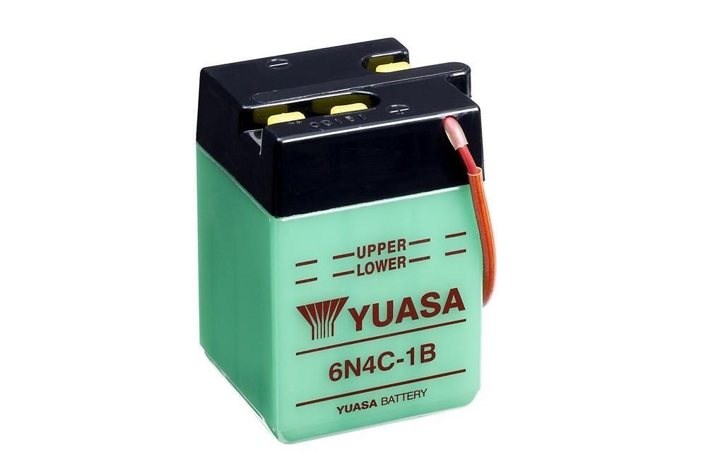 Batterie Yuasa 6N4C-1B 6V 4Ah