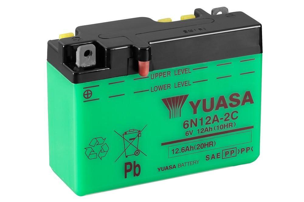 Batterie Yuasa 6N12A-2C 6V 12Ah