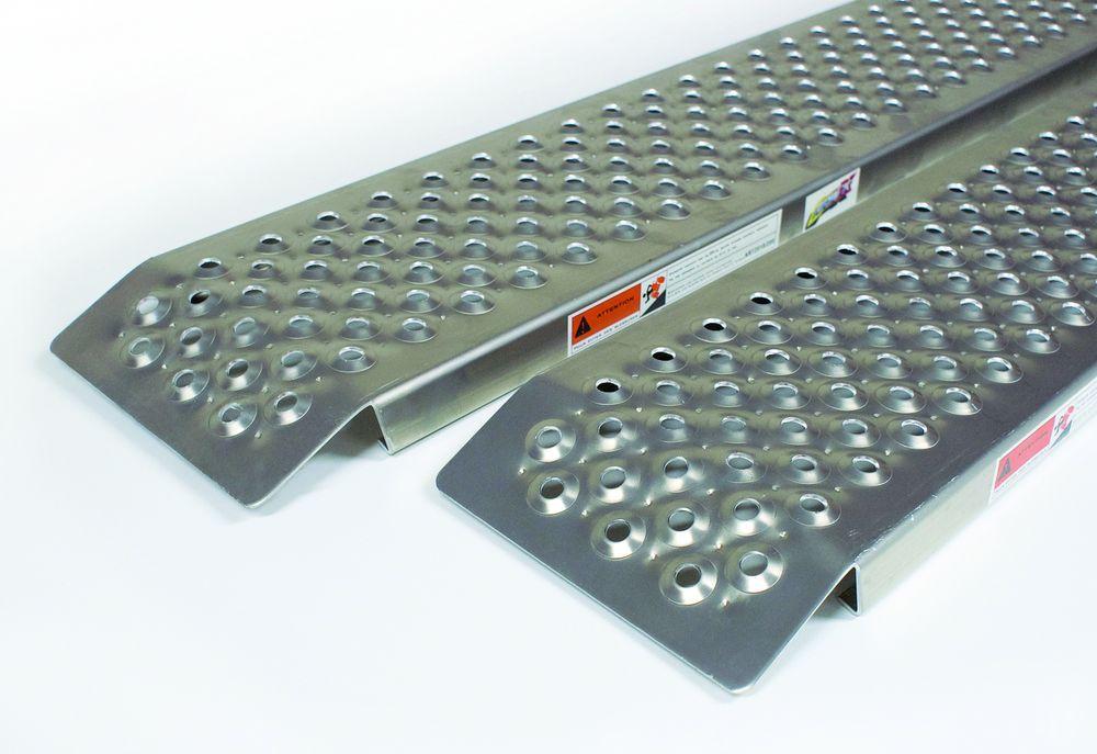 Paire de rampes fortes aluminium 1 Tonne