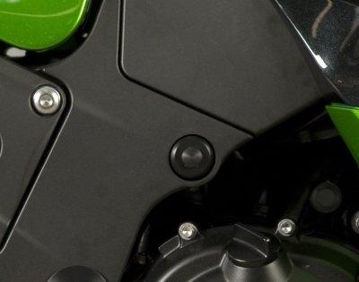 Insert de cadre R&G Racing noir Kawasaki ZZR 1400 12-18