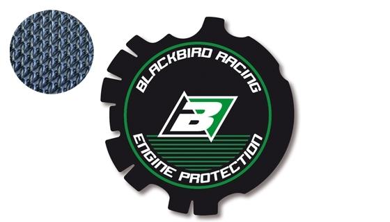 Stickers de couvercle d'embrayage Blackbird Kawasaki 125 KX 03-08 vert
