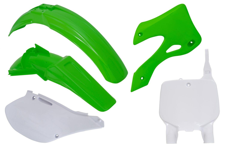Kit plastique Racetech couleur dorigine pour Kawasaki KX 250 99-02