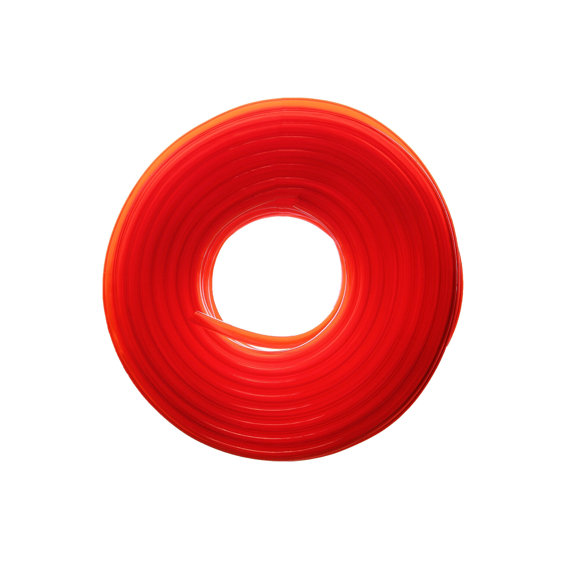 Durite essence Replay 5x9 transparent rouge 20m