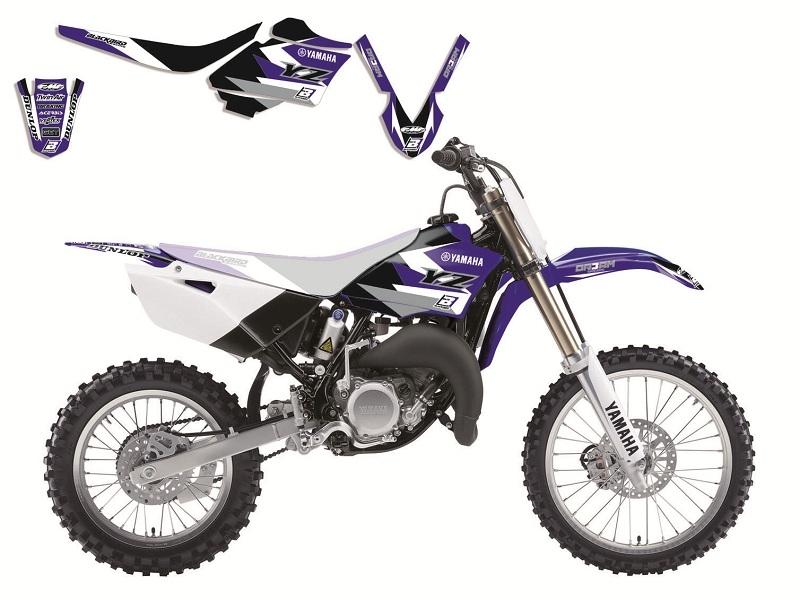 Kit déco Blackbird Dream Graphic 3 Yamaha 85 YZ 16-18