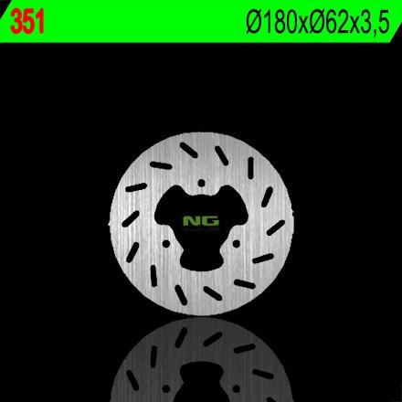 Disque de frein arrière NG Brake Disc D.180 - 351