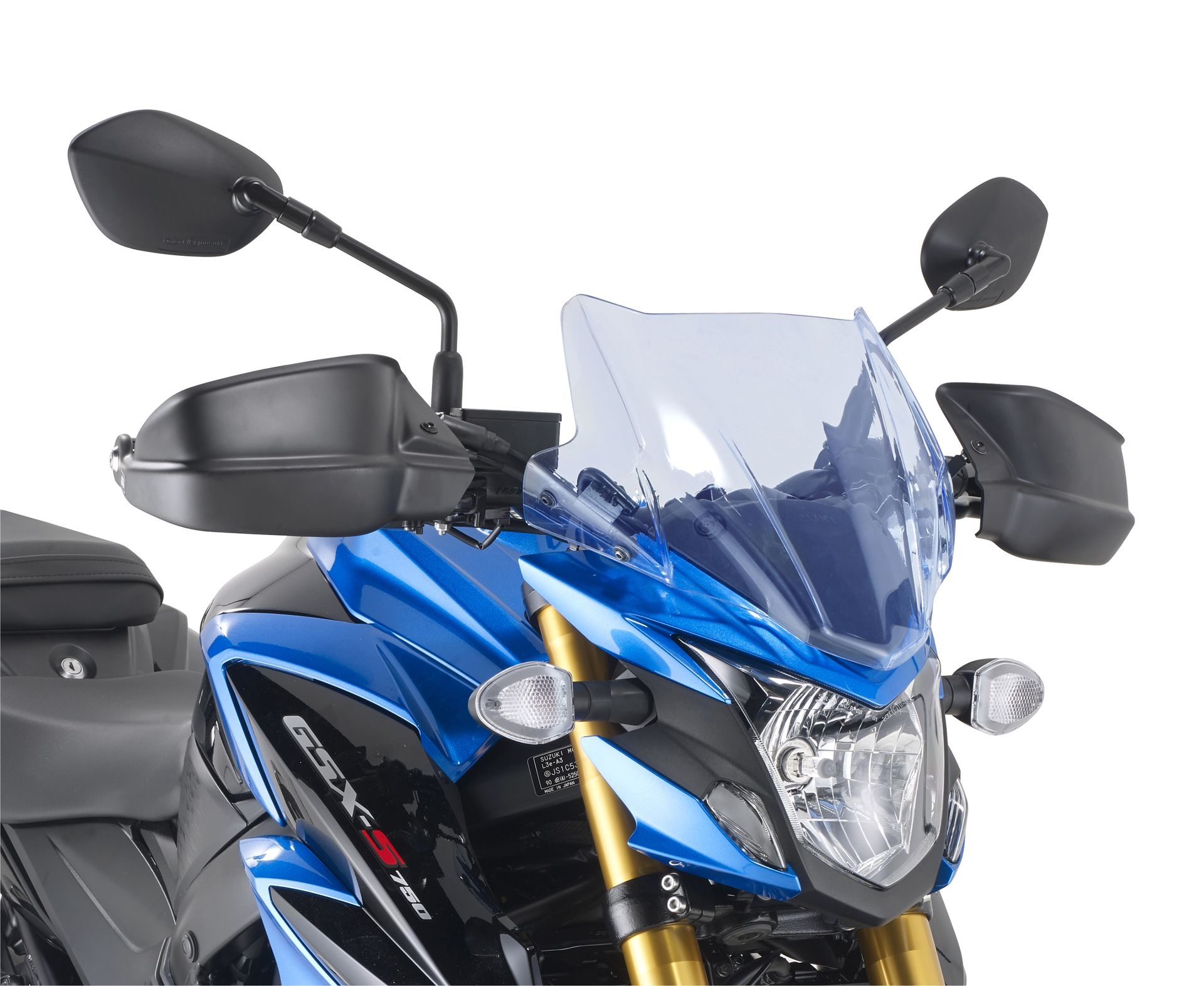 Protège-mains Givi Suzuki 750 GSX-S 2017