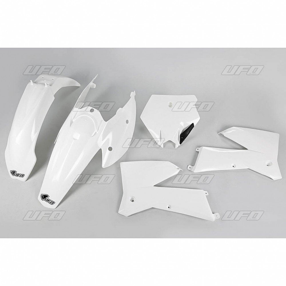 Kit plastique UFO KTM 125 SX 05-06 blanc