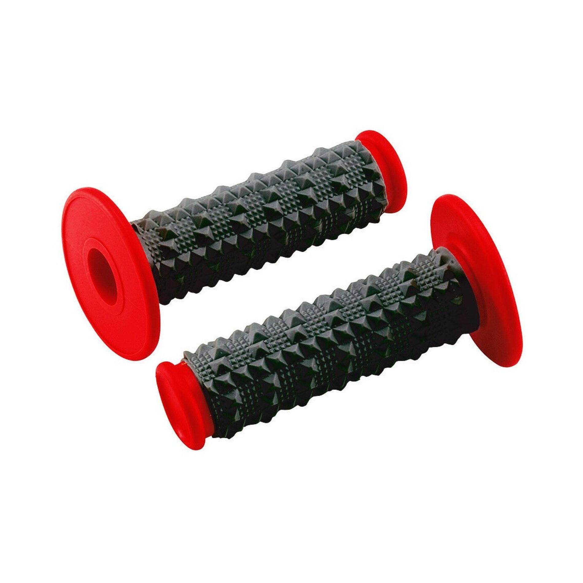 Revêtements Cross 3D noir/rouge