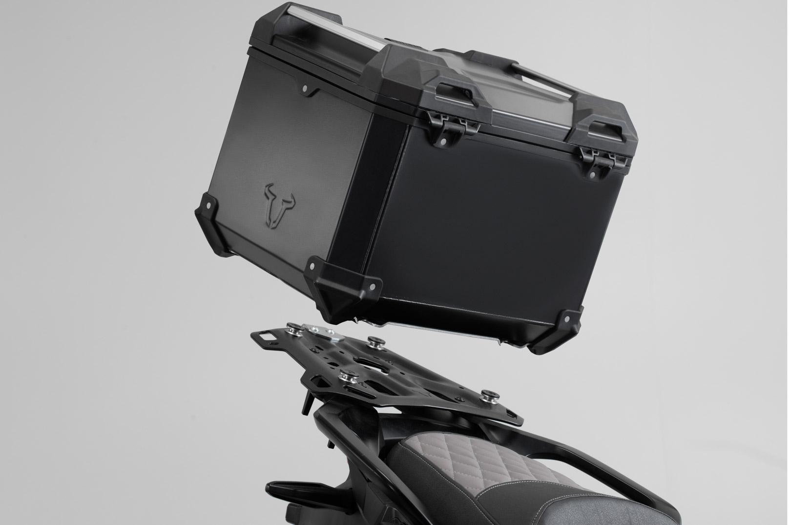 Kit Top-Case SW-MOTECH TRAX ADV 38L noir Suzuki V-Strom 650 11-16