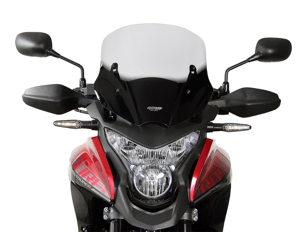 Pare-brise MRA Sport noir Honda VFR 1200 X Crosstourer 16-18