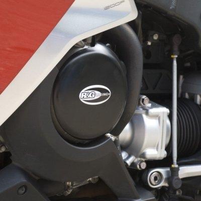 Couvre carter gauche (alternateur) R&G Racing noir Honda VFR 1200 F 10