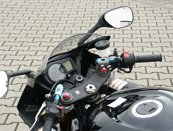 Kit guidon bracelets LSL Tour Match rehaussés 65 mm Suzuki GSX-R 1000