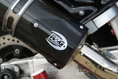 Protection de silencieux R&G Racing noir droit GSX-R 1000 07-08 avec Y