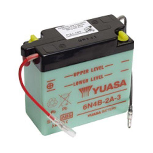 Batterie Yuasa 6N4B-2A-3 6V 4Ah