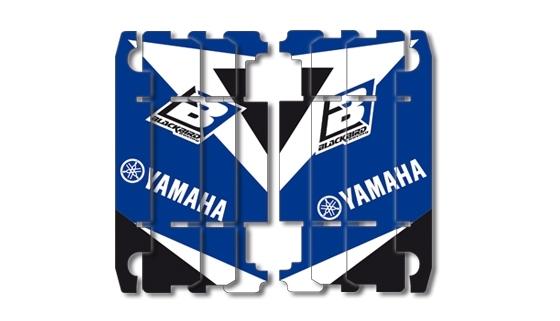 Kit déco de radiateur Blackbird Dream Graphic 3 Yamaha 125 YZ 02-17 bl