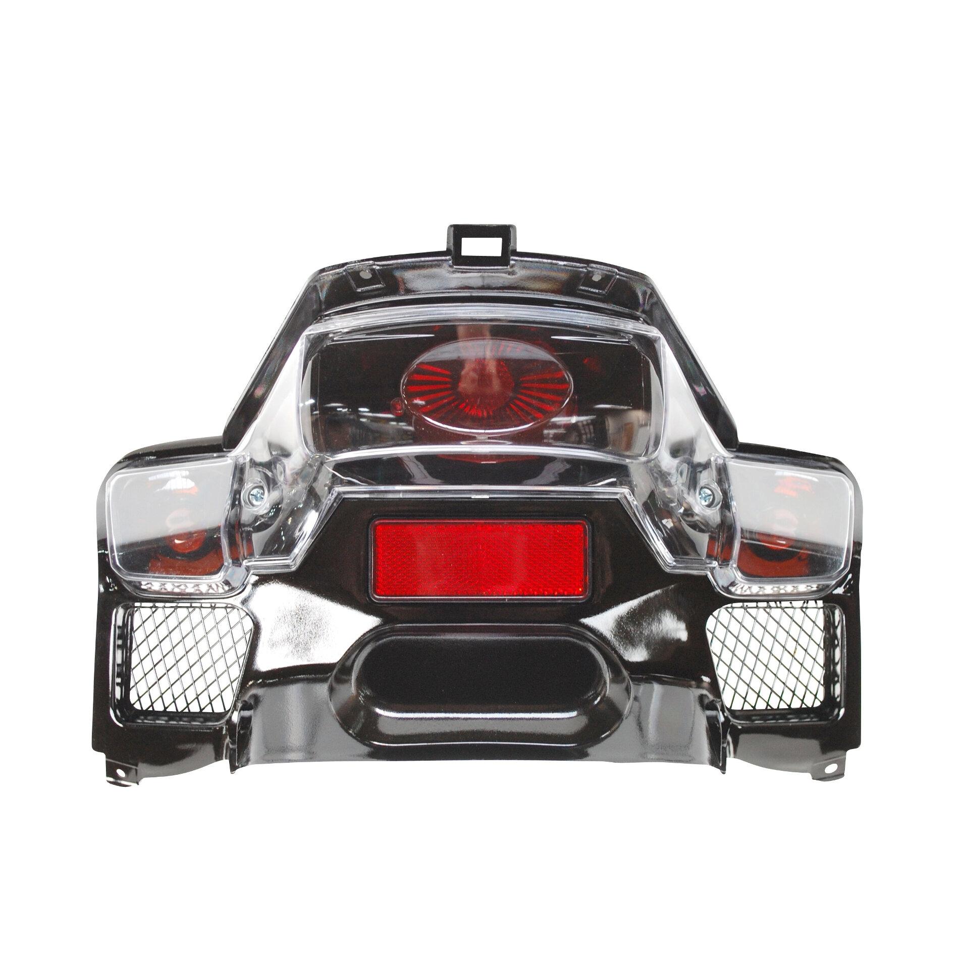 Feu arrière complet Type Lexus fond noir Booster Next