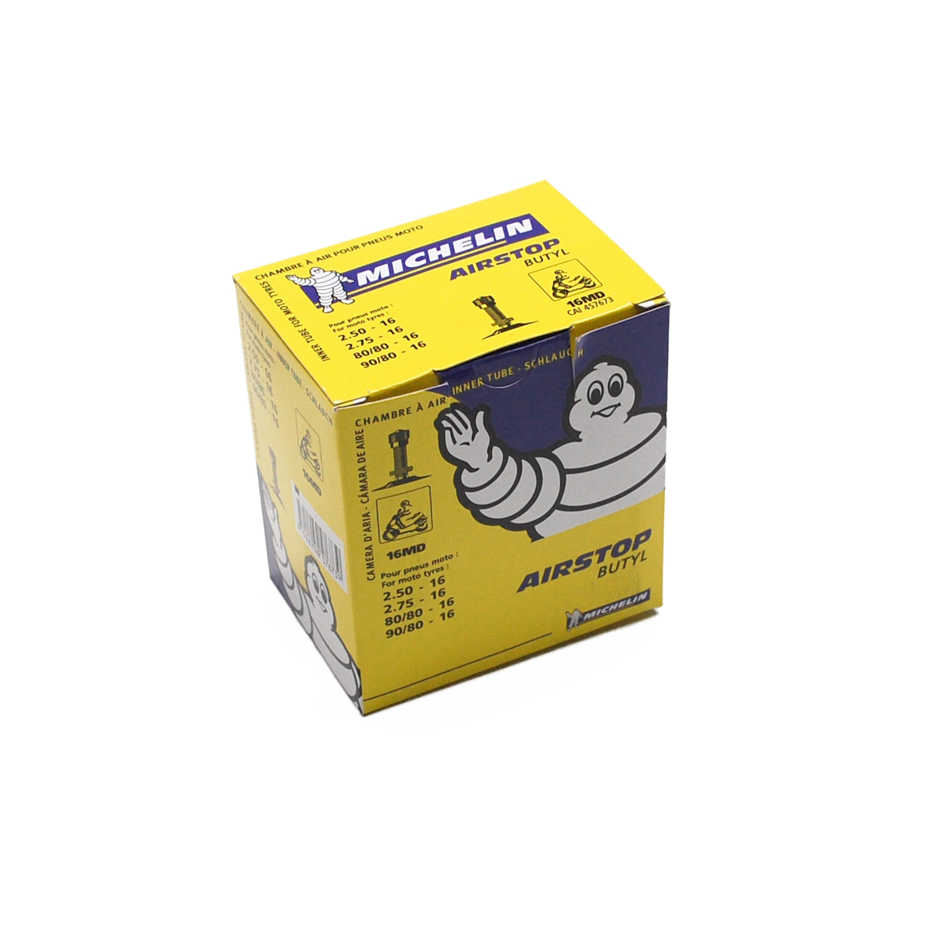 Chambre à air Michelin Street 2,75-16 valve droite TR4