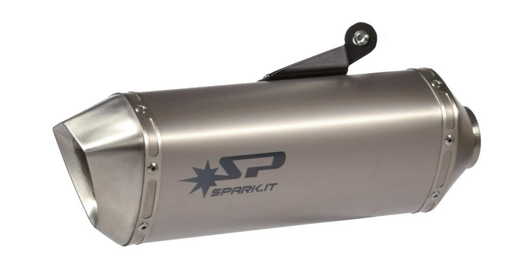Silencieux homologué SPARK Force titane pour Honda VFR 1200 X Crosstou