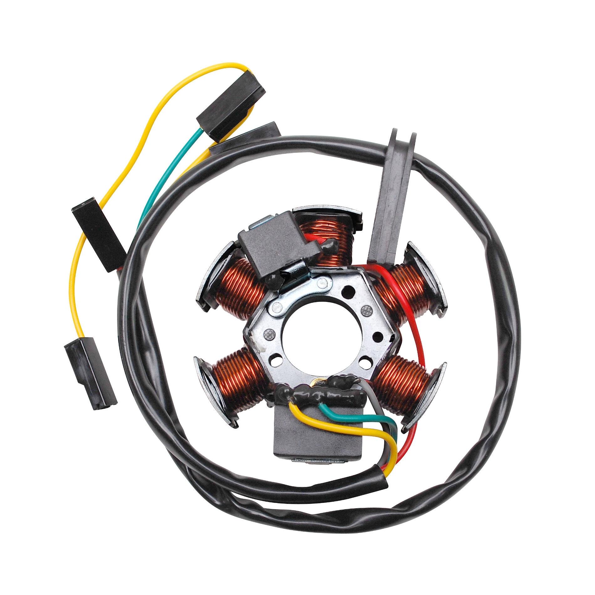 Stator d'allumage 80w avec capteur adaptable derbi senda