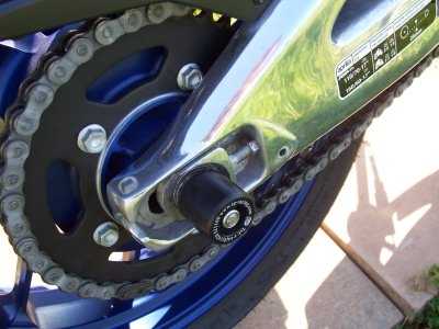 Tampons de bras oscillant R&G Racing noir Aprilia RS 125 07-12