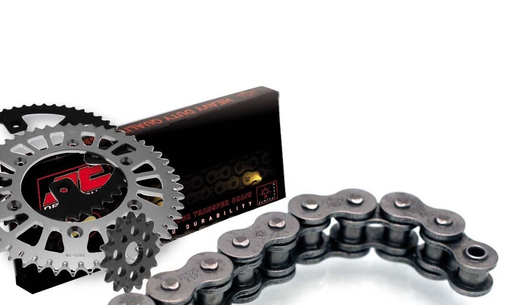 Kit chaine JT 14/50 pour Yamaha 125 TW