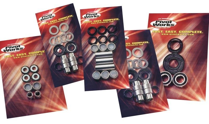 Kit roulements de roue arriere pour honda crf70/80/100 2004-07 et xr70