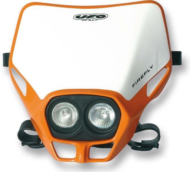 Plaque de phare UFO Firefly twins orange (orange KTM 98-09)
