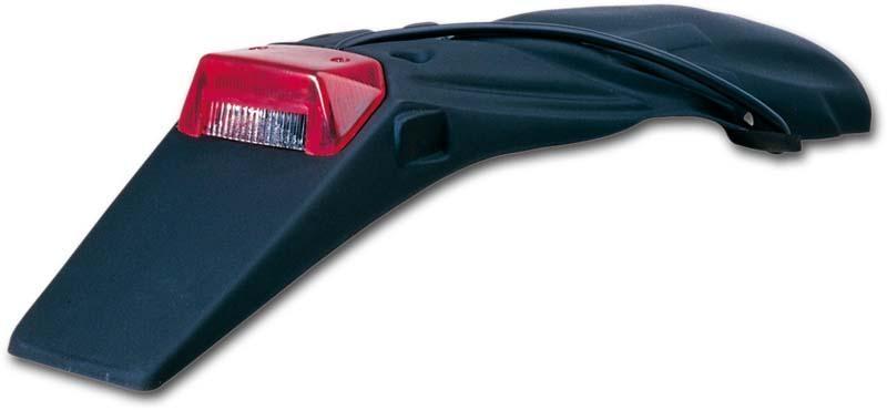 Support de plaque avec feu intégré UFO KTM 300 EXC 04-07 noir