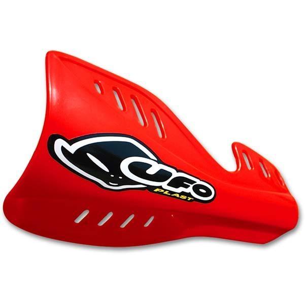 Protège-mains UFO Honda CR 250R 04-07 rouge (rouge CR 00-12)