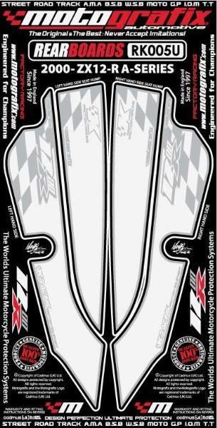 Kit deco arriere blanc pour zx10r ninja
