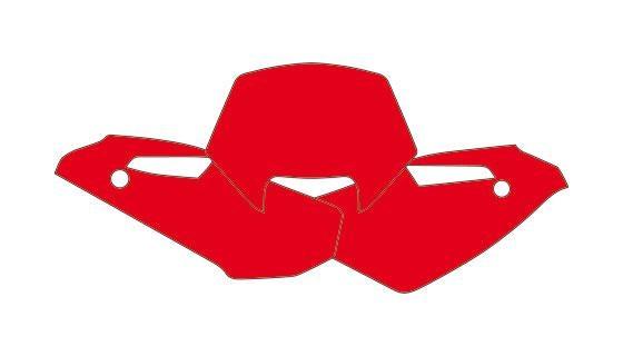 Fonds plaque hva wr250,300 09-10 rouge