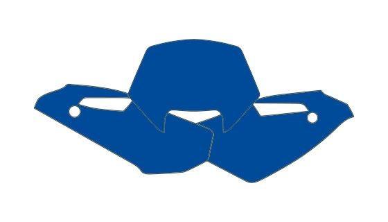 Fonds plaque hva wr250,300 09-10 bleu