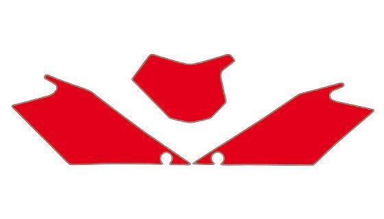 Fonds plaque gasgas ec 10 rouge