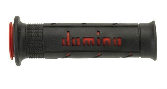 Revêtement Domino lisse 125mm noir/rouge A250