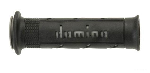 Revêtement Domino lisse 125mm noir/gris A250