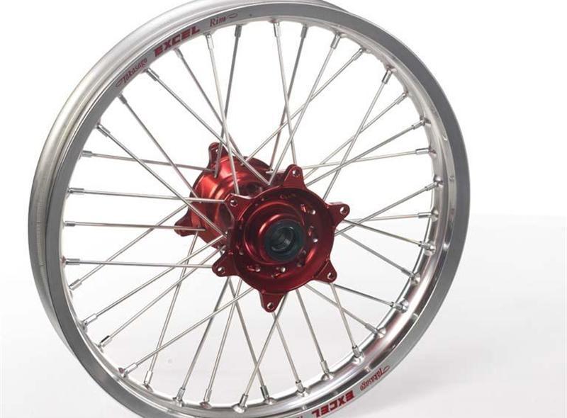 Roue arrière Haan Wheels/Excel 19x2,15 Honda CRF 450R 02-12 alu/rouge