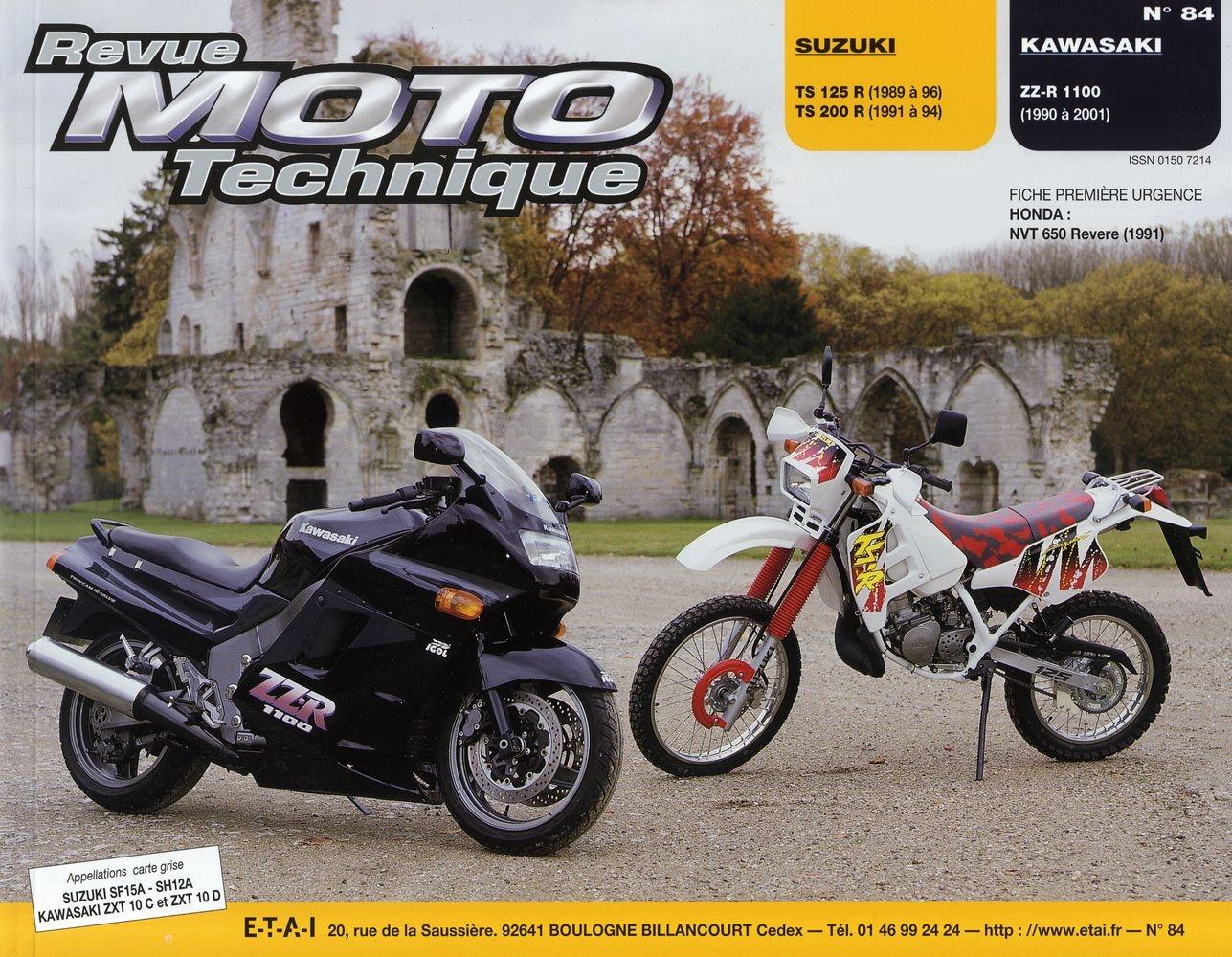 Revue Moto Technique 84.3 Suzuki TS125-200R