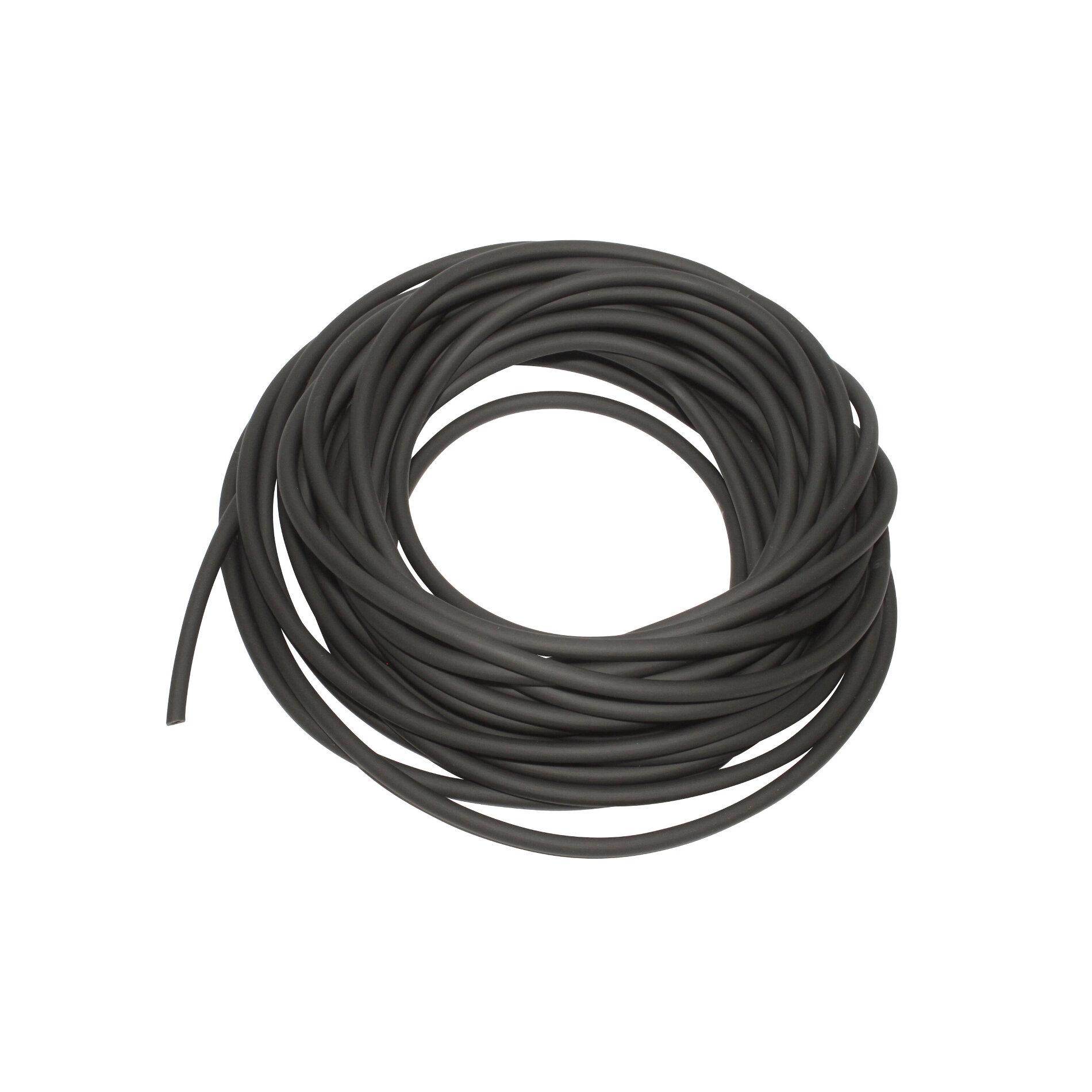 Durite essence PVC souple 3x5 noir 10m
