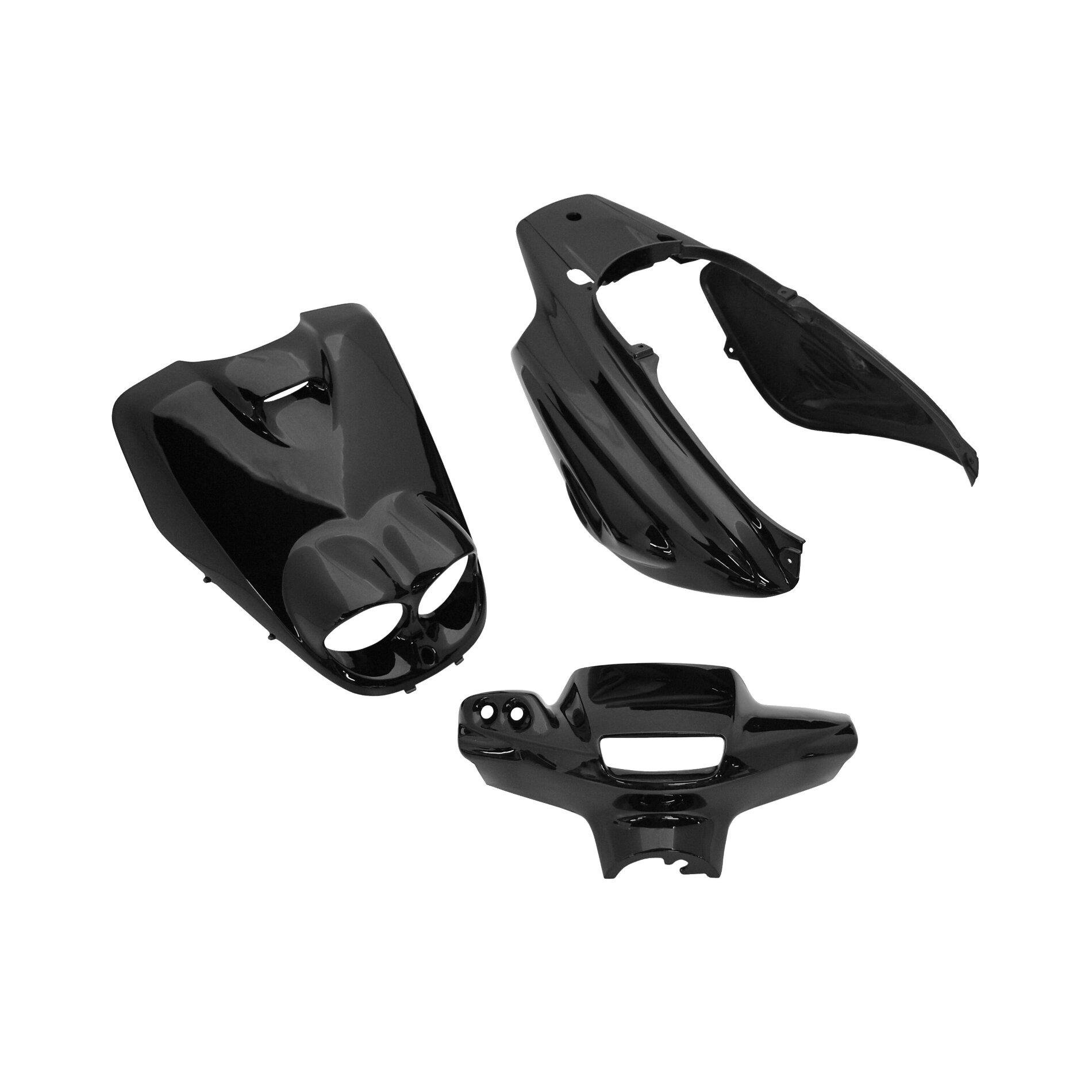 Kit carrosserie 5 pièces noir brillant adaptable Booster rocket/BW's b