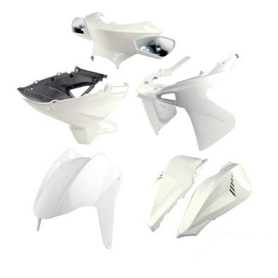 Kit habillage Tun'r Nitro (8 pcs) - Blanc