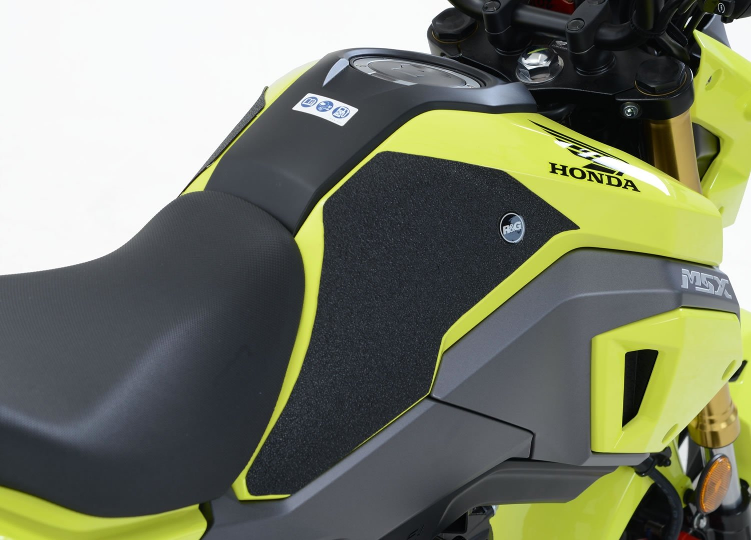 Kit grip de réservoir R&G Racing noir Honda MSX 125 16-18