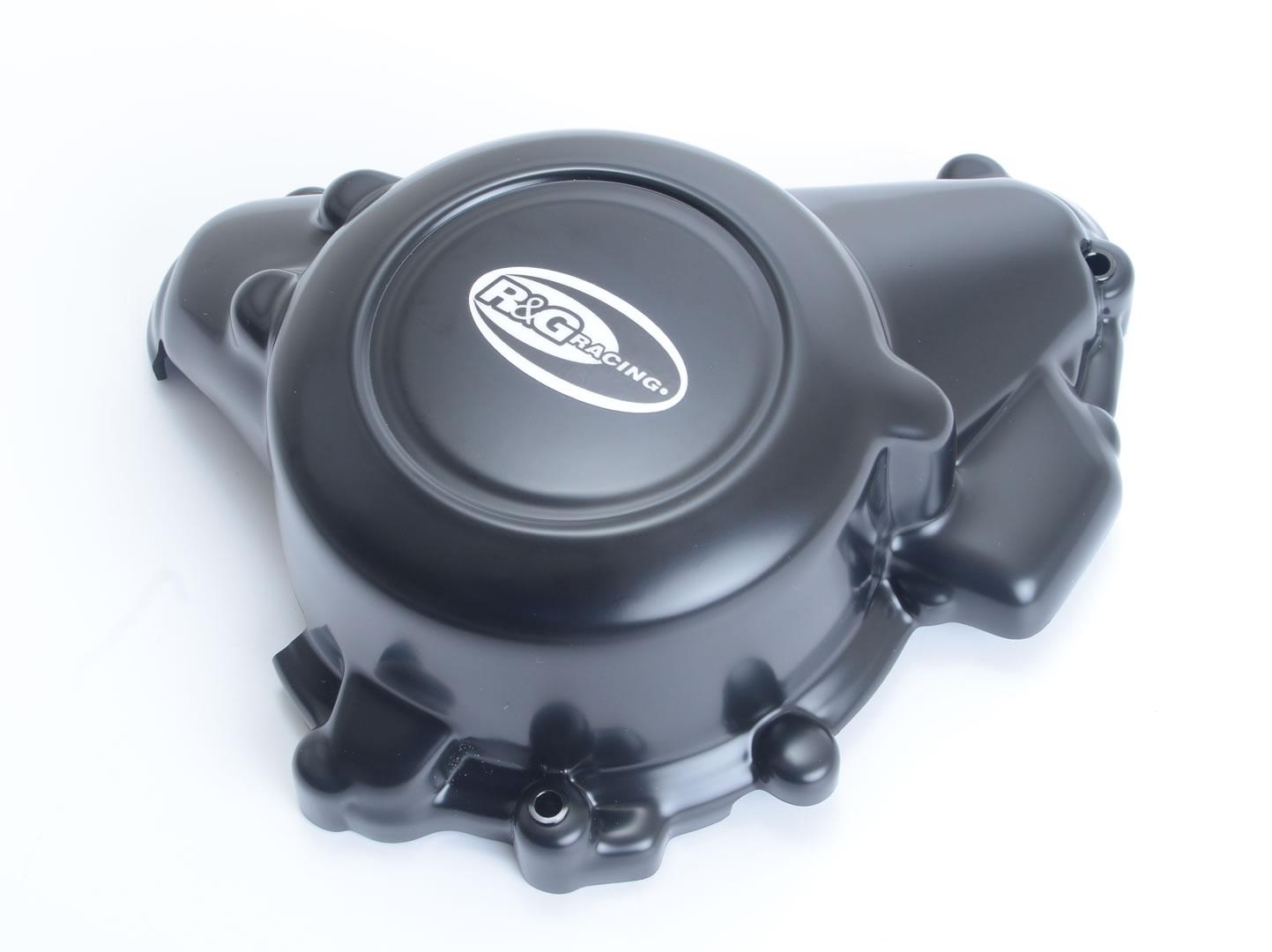 Couvre carter droit R&G Racing noir KTM 125 Duke 17-18
