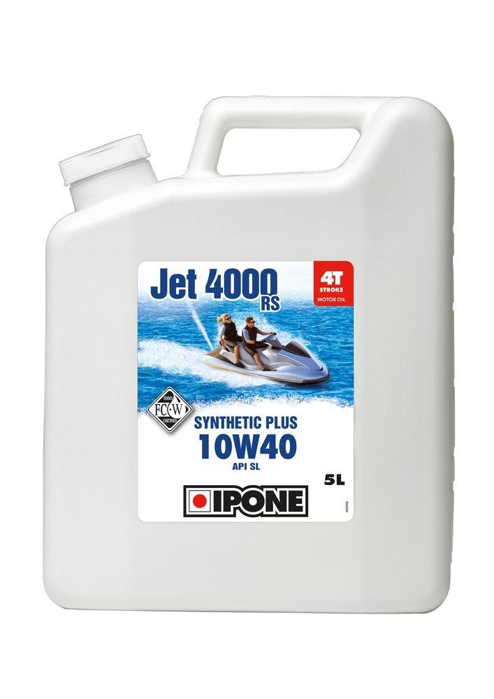 Huile moteur 4T Ipone Jet 4000 RS 10W40 5L