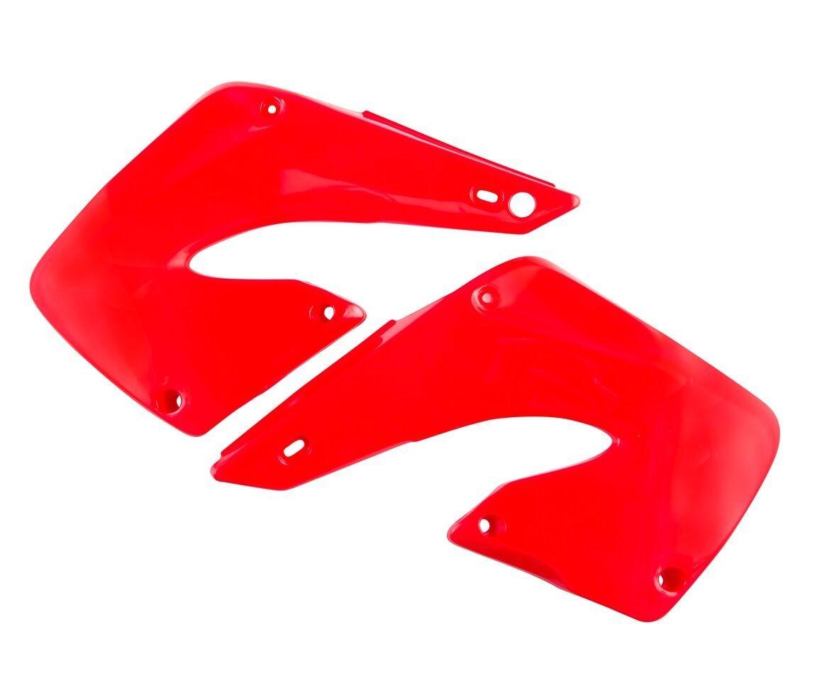 Ouïes de radiateur Acerbis Honda CR 125R 00-01 rouge (paire)