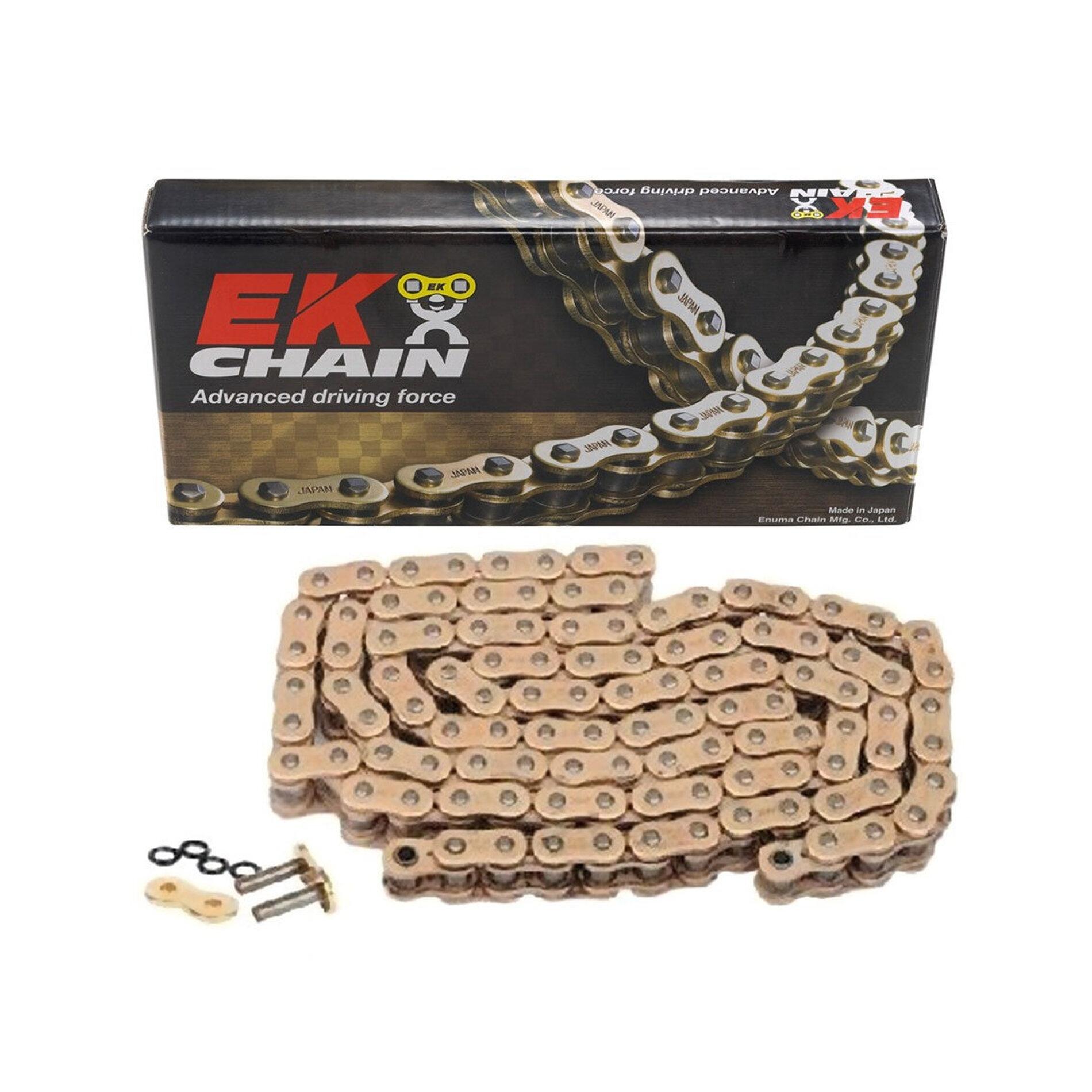 Chaîne EK 520 X-Ring 120 maillons or